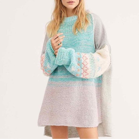 Free People Sweaters - NWT Free People Polar Opposites Sweater